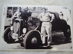 1932 Ford Roadster 1950 S Hot Rod 11 X 17 Photo Picture