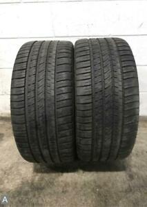 2x P255 35r19 Michelin Pilot Sport A S 3 Plus 7 8 32 Used Tires