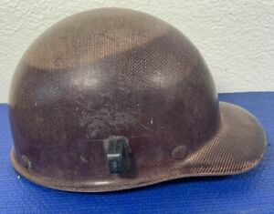 Vtg Coal Mining Msa Skullgard Medium Adjustable Old Helmet