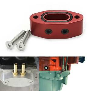 Oil Port Adapter For Chevrolet Ls Ls1 Lsx Ls2 Ls3 Lq4 Lq9 Lm7 Gmc 5 3 6 0 Red