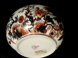 Antique Minton S Porcelain Serving Bowl Made In Philadelphia 1880 S Bold