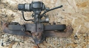 Chevy 230 250 292 Intake Exhaust Manifold Propane Carb