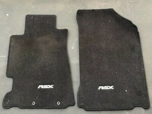 2002 2006 Acura Rsx Accessory Front Factory Oem Floor Mats Black Rare Dc5