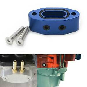 Oil Port Adapter For Chevrolet Ls Ls1 Lsx Ls2 Ls3 Lq4 Lq9 Lm7 Gmc 5 3 6 0 Blue