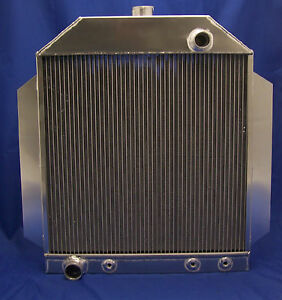 1948 1949 1950 1951 Ford Car 302 351 Aluminum Radiator Made In Usa