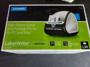 Dymo Labelwriter 450 Turbo Label Thermal Printer Black