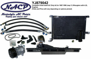 1987 1990 Jeep Wrangler Yj Ac Kit 4 2l Engine