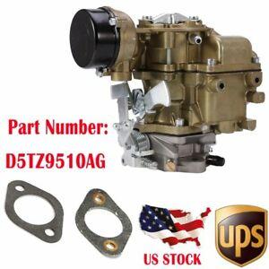 Us Carter Carburetor For 1975 82 Ford E100 200 Engine Type C1 Yf 6 Cil D5tz9510a
