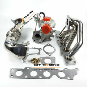 K0422 881 882 Turbo Exhaust Manifold 3 Downpipe For Mazdaspeed 3 2 3l New