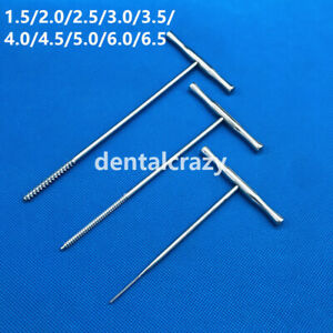 1pcs Stainless Steel T Handle Bone Taps Orthopedics Tools Veterinary Instrument