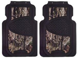 Signature Products Mfm4114 2 Piece Mossy Oak Automotive Camo Front Floor Mats