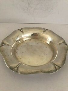 Shreve Crump Low Co Sterling R D 14 Ashtray