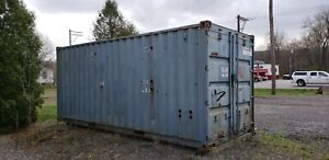 8 20 Overseas Shipping Container Conex Box Insulated