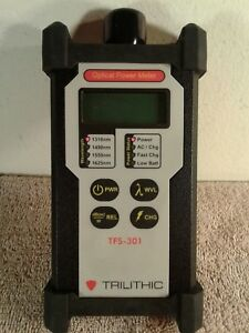 Trilithic Tfs 301 Optical Power Meter