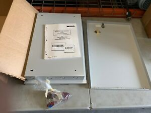 Edwards Fire Alarm Battery Cabinet 2400 Series 2400 Batbox 46035 2180 Nos