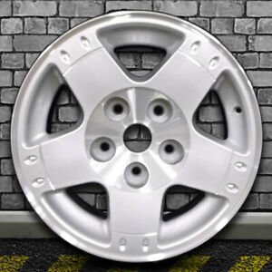 Bright Sparkle Silver Machined Oem Wheel For 2003 2005 Dodge Ram 1500 17x8