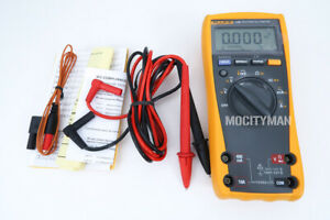 Fluke 179 True Rms Digital Multimeter Temperature Backlight Usa Made