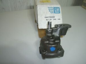 Nos Gm Solid Lifter Oilpump Camaro Z 28 302 Corvette Lt1 350 327 Fi Pass 409 Z11