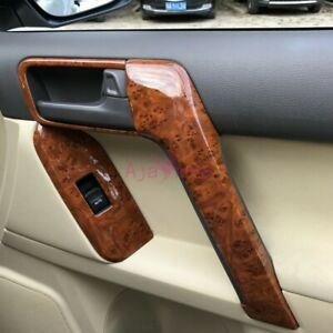 Wooden Interior Holder Trim For Toyota Land Cruiser Prado Fj150 Lc150 2010 2018