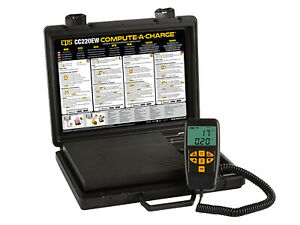 Cps Cc220ew Compute a charge Enhanced Wireless Refrigerant Charging Scale