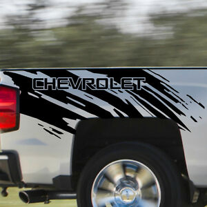 Chevrolet Chevy Splash Grunge Logo Truck Vinyl Decal Bed Graphic Reflective Cast