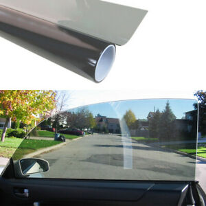 Black Glass Window Tint Shade Film 70 Vlt Auto Car Suv House 1 Roll 50 100 Cm