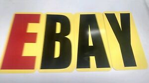 8 x 4 Changeable Sign Letters For Outdoor Marquee Portable Signs set Of 176