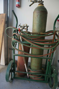 Oxy acetylene Welding burning System Complete With Cart Los Angeles Area