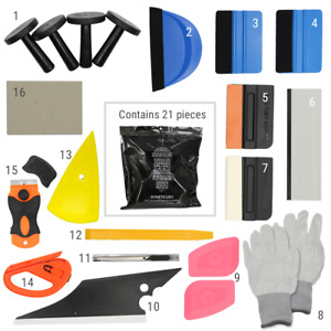 Car Vinyl Wrapping Application Tool Kit For Vehicle Window Tint Film Installing