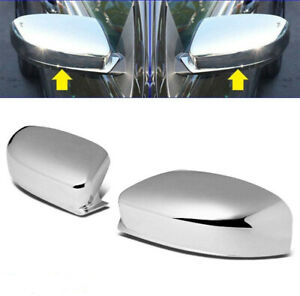 For 2011 2018 Chrysler 300 300c Chrome Side Mirror Cover Covers Top Half