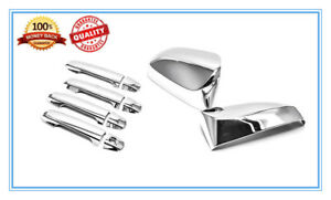 For 2012 2016 Toyota Camry Chrome Mirror Door Handle Covers Cover Us Seller