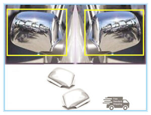 For 2004 2013 Chevy Colorado Gmc Canyon Chrome Side Mirror Cover Covers