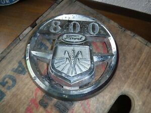 Ford New Holland Tractor 800 Hood Emblem Oem Original Nda16600a Rad sales Vtg