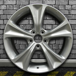 Full Face Sparkle Silver Oem Factory Wheel For 2011 2012 Honda Accord 18x8
