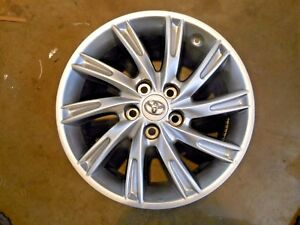 2012 2013 2014 Oem Toyota Camry Liquid Metal 10 Spoke 17 Wheel Rim Factory