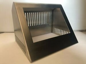 Stainless Steel Hmi Enclosures 5 Inch Sloped Vented