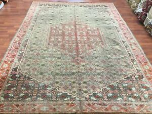 Antique Turkish Kurd Seneh Bidjar Rug 753