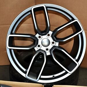 Flow Forged Hellcat Style 20x9 5 11 5x115 18 25 Gunmetal Wheels set Of 4