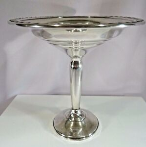 Sterling Silver Weighted 6 Tall Compote 163 7g