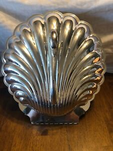 Poole By Leonard Silver Swan Hinged Serving Bowl