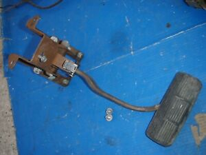 Pontiac 61 62 Drag Race Manual Brake Pedal 1961 1962 Catalina Gp Grand Prix