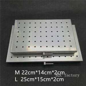 Autoclavable Case Sterilization Tray Disinfection Box For Surgical Instrument