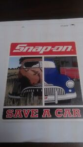 Snap On Tools Official Save A Car Decal Sticker New