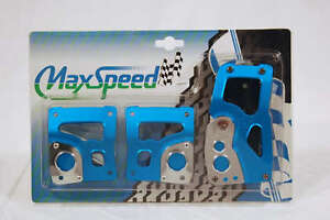 Maxspeed Universal Pedal Cover 06 5603bl Manual 3pcs set