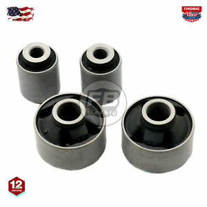 4 Front Lower Control Arm Bushing For Subaru Legacy Impreza Forester Xv 05 17 Us