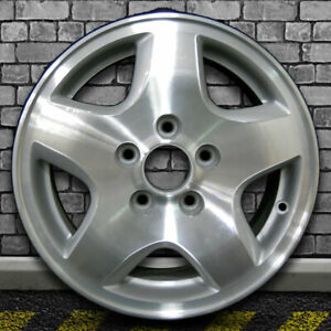 Machine Texture Fine Metallic Silver Oem Wheel For 1998 00 Honda Accord 15x6 5