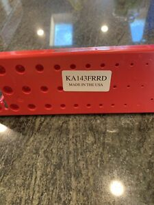 New Snap On 1 4 Socket Tray Ka143frrd Red Sae