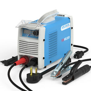 Potable Stick Arc Welder Dc Inverter Igbt Mma Welding Machine 110 220v 125a