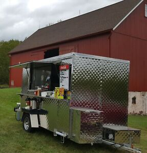 Concession Trailer Food Truck 8x10 Very Good Condition w Optional Commissary