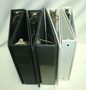 3 ring Binders 1 1 2 2 Asst d Colors brands styles Some New 7 total M4602